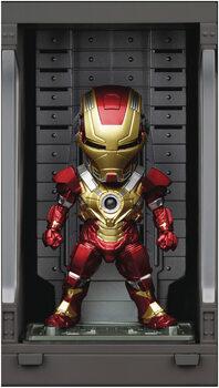 Figura Iron Man 3 - Iron Mark XVII with Hall of Armor