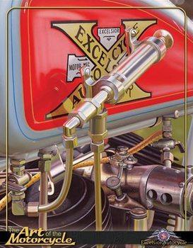 Jacobs - Excelsior Autocycle Plaque métal décorée