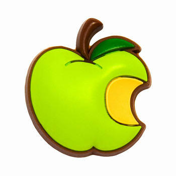 APPLE - green Jibbitz