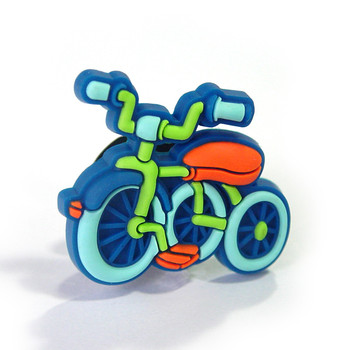 CHILDREN BICYCLE - blue Jibbitz