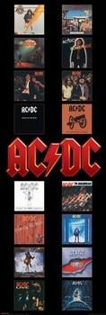 Juliste AC/DC Albums