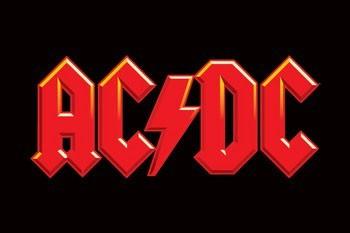 Juliste AC/DC - logo