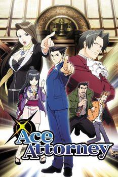 Juliste Ace Attorney - Key Art