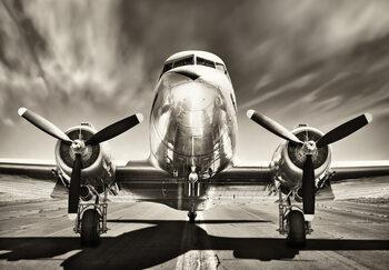 Juliste Aeroplane - Monochromatic