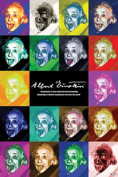 Juliste  Albert Einstein - pop art