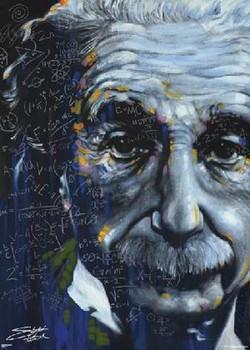 Juliste  Albert Einstein - stephen fishwick