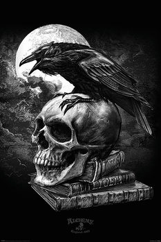 Juliste  Alchemy - Poe's Raven
