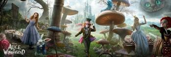 Juliste Alice in wonderland - landscape