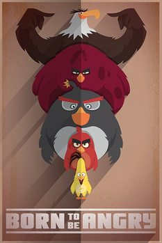 Juliste Angry Birds - Born to be Angry