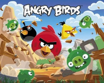 Juliste Angry Birds