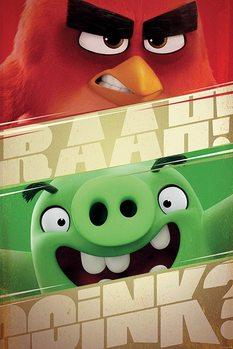 Juliste Angry Birds - Raah!
