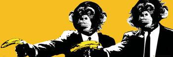 Juliste  Apinoita - Bananas, Pulp Fiction Parody