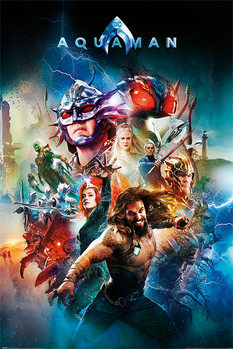 Juliste Aquaman - Battle For Atlantis