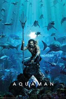 Juliste Aquaman - One Sheet