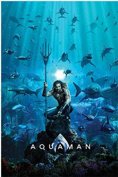Juliste Aquaman - Teaser