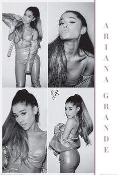 Juliste Ariana Grande - Black & White