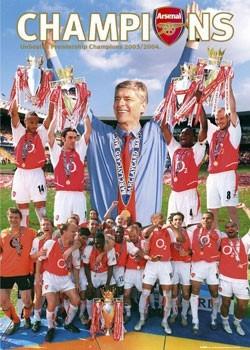 Juliste  Arsenal - champions 04