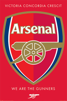 Juliste Arsenal FC - Crest