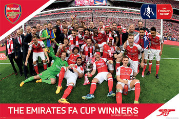 Juliste  Arsenal FC - FA Cup Winners