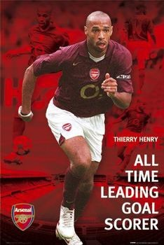 Juliste  Arsenal - Henry Thierry