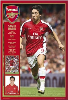 Juliste Arsenal - nasri 08/09