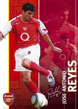 Juliste  Arsenal - Reyes 04/05