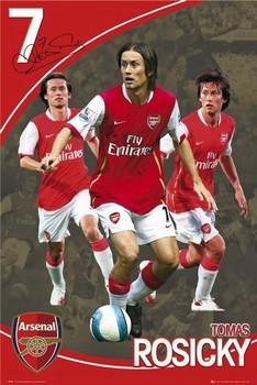 Juliste  Arsenal - rosicky 07/08