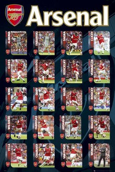 Juliste  Arsenal - squad profiles 2010/2011