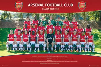 Juliste  Arsenal - Team photo 12/13