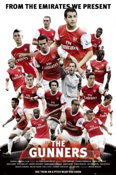Juliste  Arsenal - the gunners 2010/2011