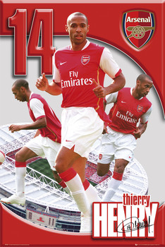 Juliste  Arsenal Thierry Henry 06/07