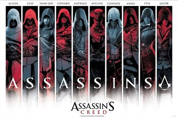 Juliste Assassin's Creed - Assassins