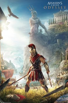 Juliste  Assassins Creed Odyssey - Keyart