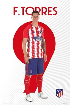 Juliste Atletico Madrid 2017/2018 -  F. Torres