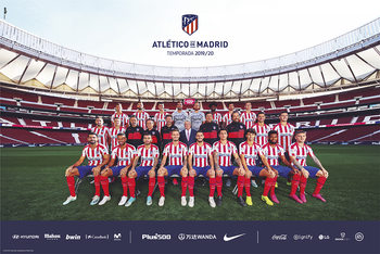 Juliste Atletico Madrid 2019/2020 - Team