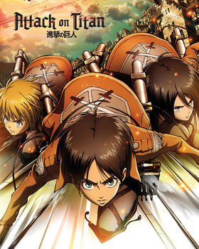 Juliste Attack on Titan - One Sheet