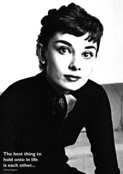 Juliste Audrey Hepburn - Quote
