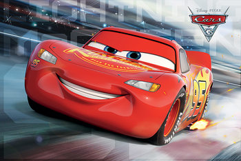 Juliste Autot 3 - Cars 3 - McQueen Race