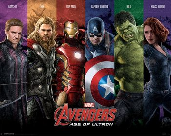 Juliste Avengers: Age Of Ultron - Team