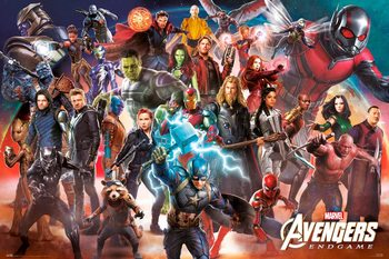 Juliste Avengers: Endgame - Line Up