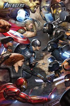 Juliste Avengers Gamerverse - Face Off