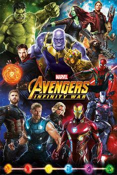 Juliste Avengers: Infinity War - Characters
