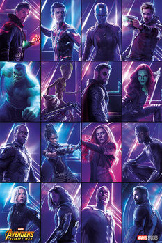 Juliste  Avengers Infinity War - Heroes