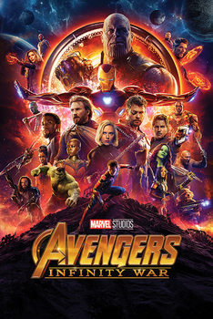 Juliste  Avengers Infinity War - One Sheet