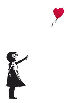 Juliste Banksy Street Art - Hope