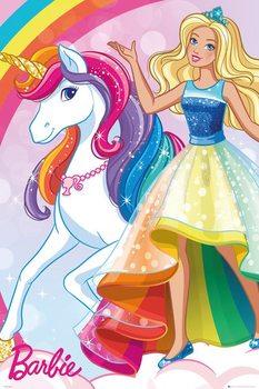 Juliste  Barbie - Unicorn