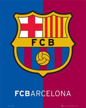 Juliste Barcelona crest