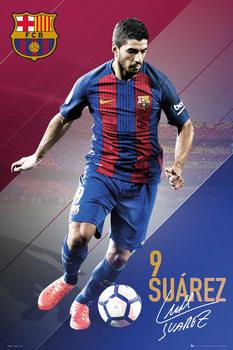 Juliste Barcelona - Suarez 16/17