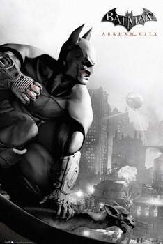 Juliste BATMAN ARKHAM - city cover