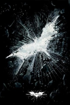 Juliste BATMAN DARK KNIGHT RISES - city